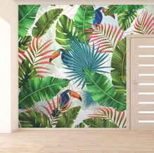 lifencolors-wallpaper-tropical-repeatlifencolors-wallpaper-floral-repeat-yellow-bedroom-livingroom
