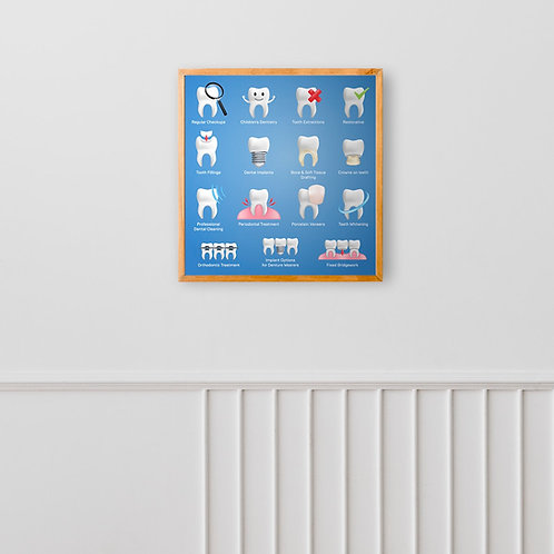 Finest posters  and wallpaper for dental clinics