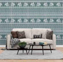 lifencolors-wallpaper-elephant-tribal-bedroom-livingroom