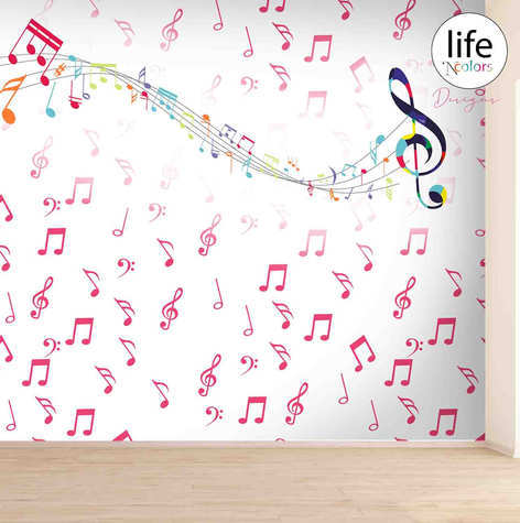 Life N Colors wallpapers for kid's rooms