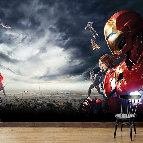 Avengers, Wallpaper for Walls