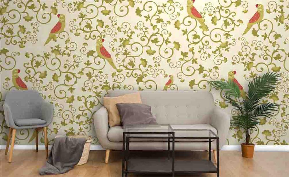 Life N Colors Designer Wallpaper
