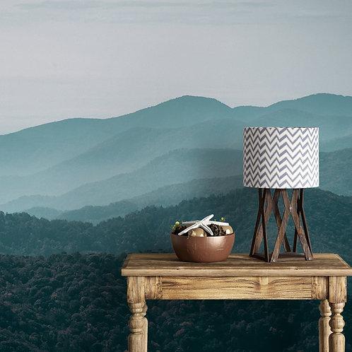 Misty Mountains Serene Wallpaper, Customised, Bedrooms Design