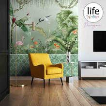 Tropical theme wallpaper Life N Colors