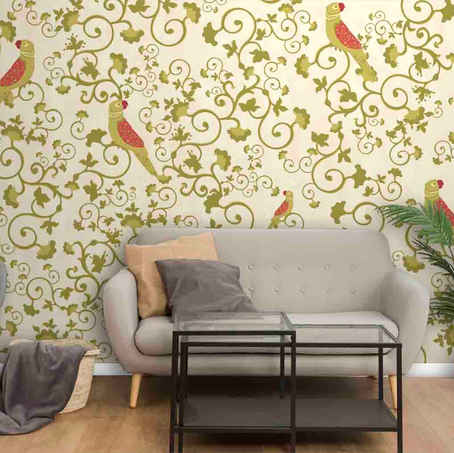 lifencolors-wallpaper-parrot-indian-bedroom-livingroom