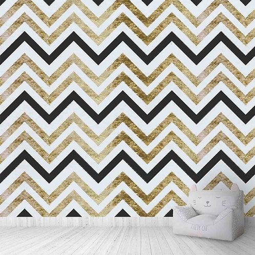 Chevron Pattern, Textured For Walls