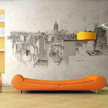 lifencolors-wallpaper-abstract-sketch-newyork-city-bedroom-livingroom