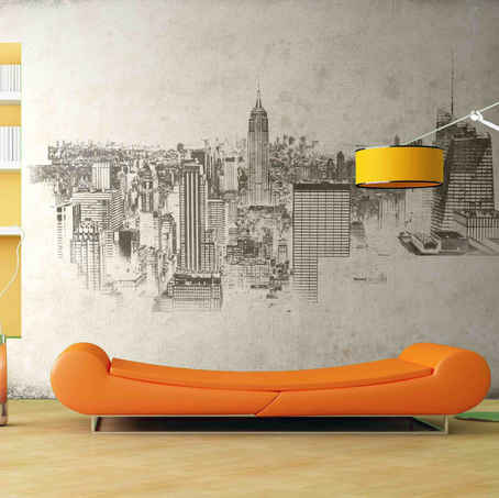 lifencolors-wallpaper-abstract-sketch-newyork-city-bedroom-livingroom