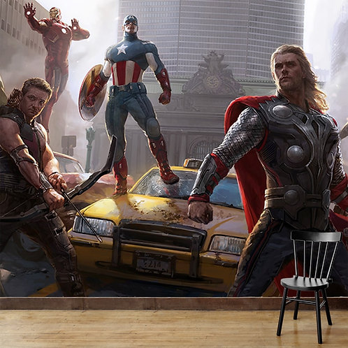 Avengers Wallpaper for Walls by Life N Colors