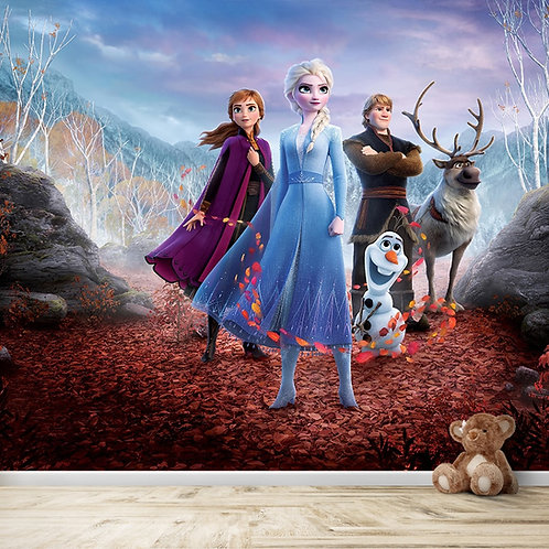 Frozen Movie Characters, Best Wall Decor For Kids Room
