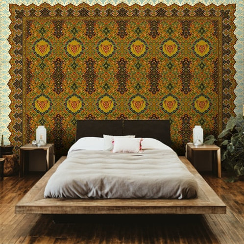 Indo Persian art form, best wall decor for living, dining and bedrooms