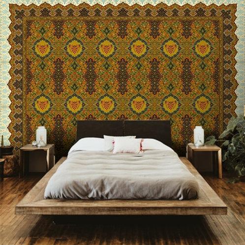 Indo Persian Carpet Art Wallpaper