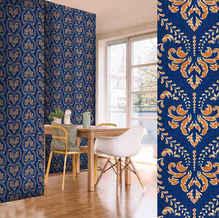 lifencolors-wallpaper-floral-blue-damask-diningroom-livingroom-bedroom