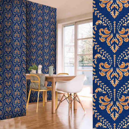 lifencolors-wallpaper-floral-blue-damask-diningroom-livingroom-bedroom