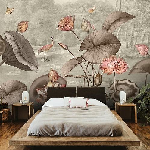Lotus Theme Indian Wallpaper