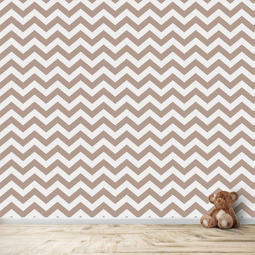 Chevron Print Wallpaper by Life N Colors