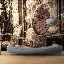lifencolors-wallpaper-gramophone-corktexture