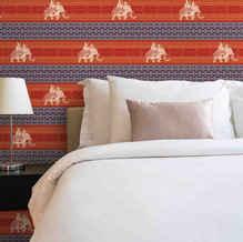 Elephant-Indian-wallpapers-lifencolors-bedroom-livingroom