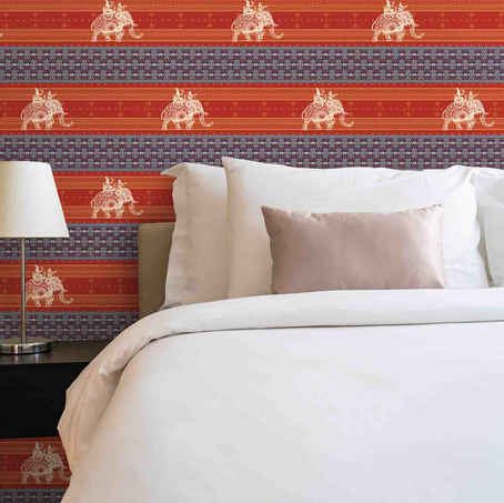 Elephant-Indian-wallpapers-lifencolors-bedroom-livingroom
