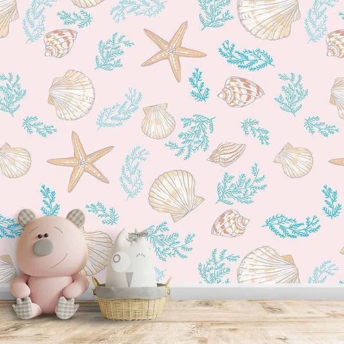 Aquatic Theme Customised Wallpaper