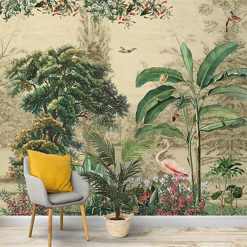 Tropical Theme Designer Wallpaper, Customised