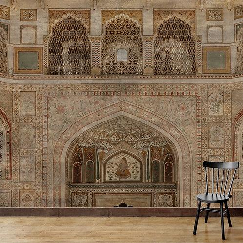 Amber Fort textured design, wallpaper