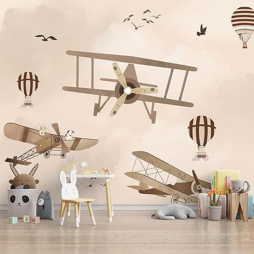 Glider Theme Wallpaper for Walls