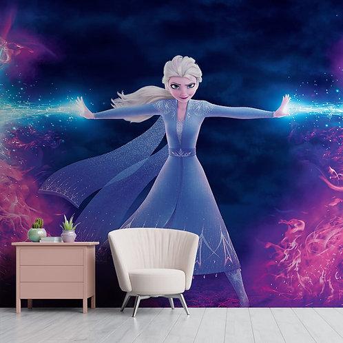 Elsa Wallpaper for Kids Room, Customised