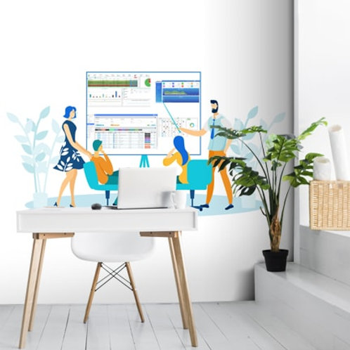 Customised Wallpaper for Offices