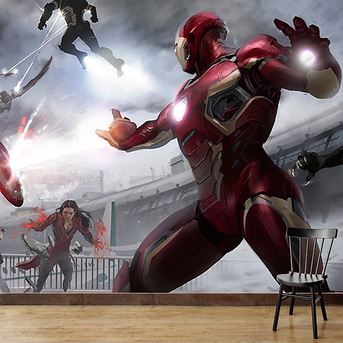 Iron Man Wallpaper for Walls