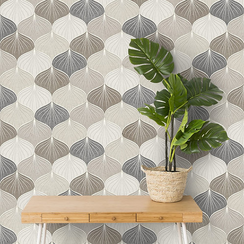Japanese Style Wallpaper with Repeat Pattern