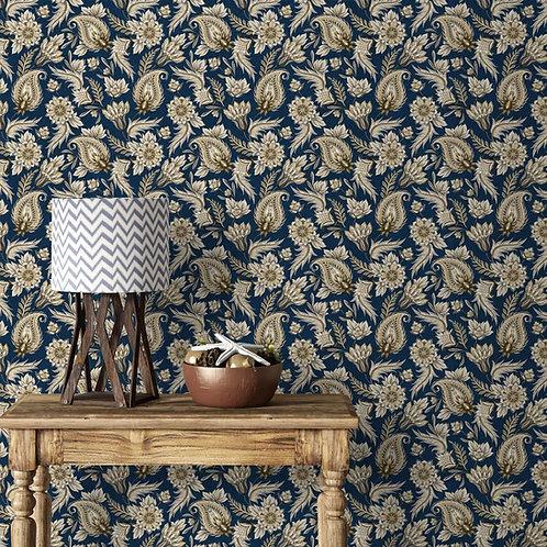 Paisley Wall Pattern, Customised Wallpaper