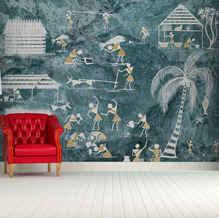 lifencolors-wallpaper-abstract-warliart-blue-bedroom-livingroom