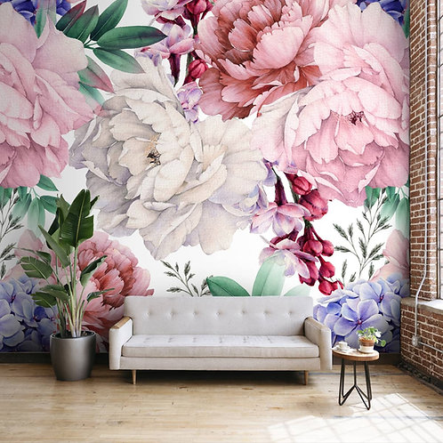 Premium water color floral wallpapers