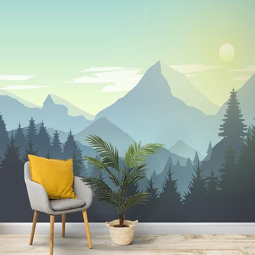 Silhouette scenery Design, Nature Wallpaper