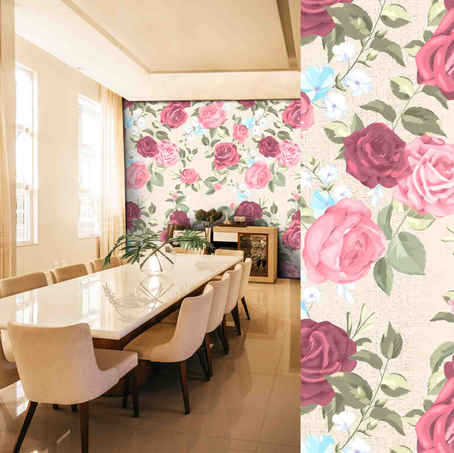 lifencolors-wallpaper-floral-repeat-beige-rose-largepattern-diningroom-livingroom-bedroom