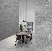 lifencolors-wallpaper-floral-repeat-grey-concrete-diningroom-livingroom-bedroom