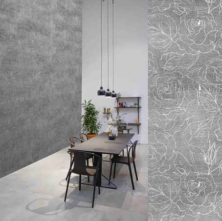 lifencolors-wallpaper-floral-repeat-grey-concrete-diningroom-livingroom-bedroom