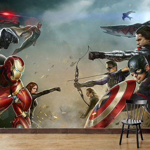 Avengers Wallpaper for Walls