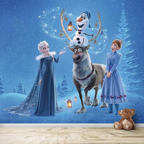 Frozen Movie Wallpaper for Kids Room