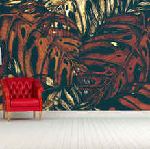 lifencolors-wallpaper-abstract-leaves-tropical-bedroom-livingroom