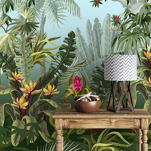 Colorful Tropical Theme Jhurmut Wallpapers