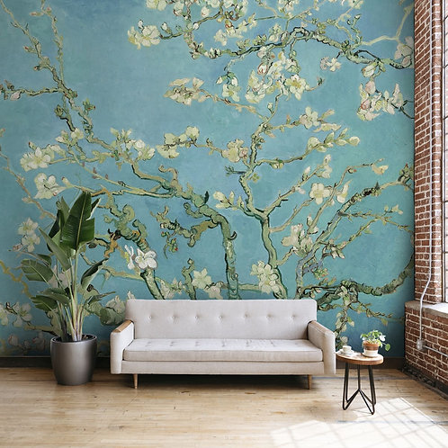 Von Gough Almond Blossom Wallpaper for Walls