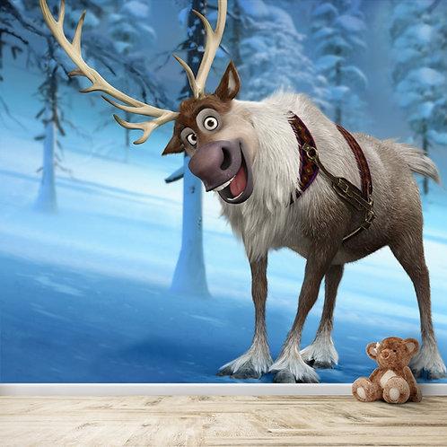 Sven from Frozen, Wallpaper for Kids Room
