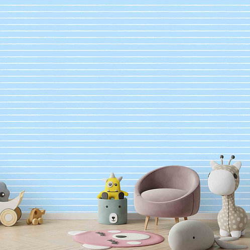 Horizontal blue and white stripes wallpapers