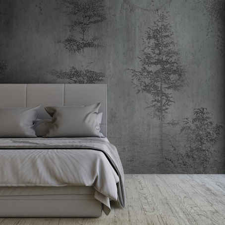 lifencolors-wallpaper-abstract-blacknwhite-forest-bedroom-livingroom