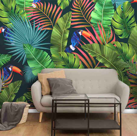lifencolors-wallpaper-tropical-repeat-2-bedroom-livingroom