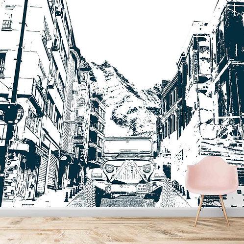 Black & White Thar Sketch