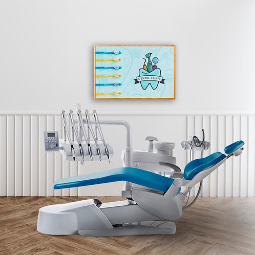 Dental Clinic Tooth Poster