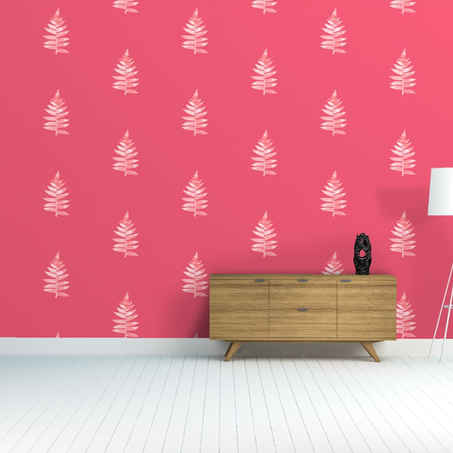 lifencolors-wallpapers-leaves-pink-repeat-bedroom-livingroom